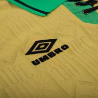 9eca52c66 ... 92-94 Manchester United Away Classic Retro Yellow Green Jersey Shirt ...