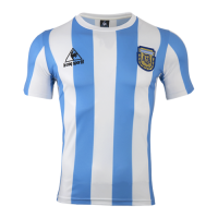 1986 Argentina Home Classic Retro Soccer Jersey Shirt