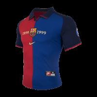 bd6bfa237 ... 1999-2000 Barcelona Home Classic Retro 100-Yeas Anniversary Jersey Shirt  ...