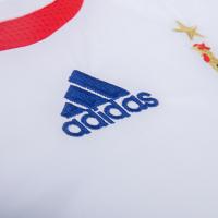 2006 France Away White Retro Soccer Jerseys Shirt