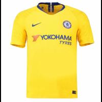 18-19 Chelsea Away Yellow Soccer Jersey Shirt(Player Version)