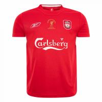 2005 Liverpool Champion League Red Retro Jersey Shirt