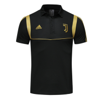 19-20 Juventus Black Polo Shirt Kit(Top+Trouser)