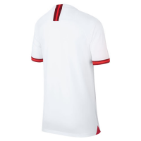 2019 World Cup England Home White Women's Jerseys Shirt