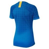 2019 World Cup Brazil Away Blue Women's Jerseys Shirt