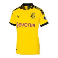 19-20 Borussia Dortmund Home Yellow Women's Jerseys Shirt