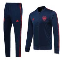 19-20 Arsenal Navy V-Neck Collar Training Kit(Jacket+Trousers)