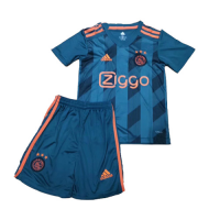 19-20 Ajax Away Green Children's Jerseys Kit(Shirt+Short)