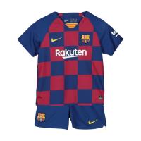 19-20 Barcelona Home Blue&Red Children's Jerseys Kit(Shirt+Short)