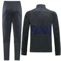 19-20 PSG Black&Navy High Neck Collar Training Kit(Jacket+Trousers)