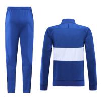 19-20 Chelsea Blue&White High Neck Collar Training Kit(Jacket+Trouser)