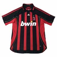 2006 AC Milan Retro Home Red&Black Soccer Jersey Shirt