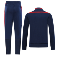 19/20 Arsenal Navy&Red High Neck Collar Training Kit(Jacket+Trouser)