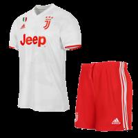 19/20 Juventus Away White Soccer Jerseys Kit(Shirt+Short)