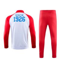 19/20 Napoli Red High Neck Collar Training Kit(Jacket+Trouser)