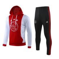 19/20 Ajax Red Hoody Sweat Shirt Kit(Top+Trouser)