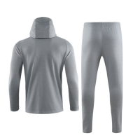 19/20 Liverpool Gray Hoody Training Kit(Jacket+Trouser)