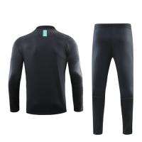 19/20 Barcelona Gray Zipper Sweat Shirt Kit(Top+Trouser)