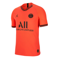 19/20 PSG Red&Orange Soccer Jerseys Shirt(Player Version)