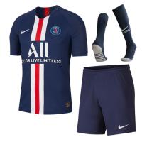 19-20 PSG Home Navy Soccer Jerseys Whole Kit(Shirt+Short+Socks)