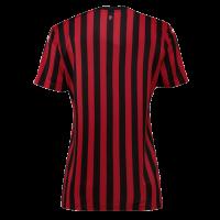 19-20 AC Milan Home Black&Red Women's Jerseys Shirt
