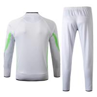 19/20 Juventus X Palace White High Neck Collar Sweat Shirt Kit(Top+Trouser)
