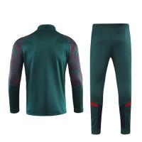 2019 Italy Dark Green High Neck Collar Training Kit(Jacket+Trouser)
