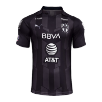 2020 Monterrey Third Away Black Soccer Jerseys Shirt