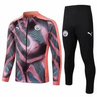 19/20 Manchester City Pink Training Kit(Jacket+Trouser)