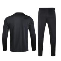 2020 Argentina Black Zipper Sweat Shirt Kit(Top+Trouser)