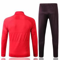 19/20 PSG All Red High Neck Collar Training Kit(Jacket+Trouser)