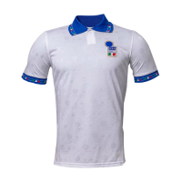 1994 World Cup Italy Away White Retro Soccer Jerseys Shirt