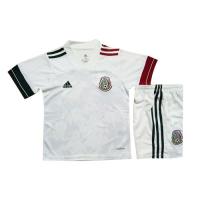 2020 Mexico Away White Children's Jerseys Kit(Shirt+Short)