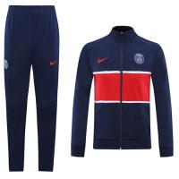20/21 PSG Navy High Neck Collar Player Version Training Kit(Jacket+Trouser)