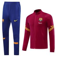 20/21 Barcelona Blue High Neck Collar Training Kit(Jacket+Trouser)