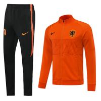 2020 Netherlands Orange High Neck Collar Training Kit(Jacket+Trouser)