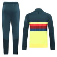 20/21 Club America Yellow High Neck Collar Training Kit(Jacket+Trouser)