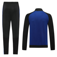 2020 Argentina Blue High Neck Collar Training Kit(Jacket+Trouser)