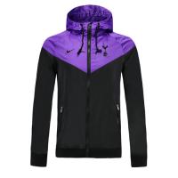 19-20 Tottenham Hotspur Black&Purple Hoody Jacket