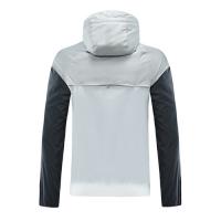 20/21 Chelsea Black&Gray Hoodie Windrunner Jacket