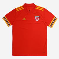 2020 Wales Home Red Soccer Jerseys Shirt