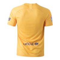 19/20 Barcelona Fourth Senyera Yellow Soccer Jerseys Shirt
