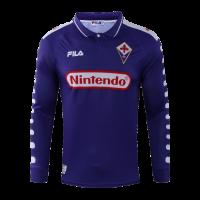98/99 Fiorentina Home Purple Retro Long Sleeve Jerseys Shirt