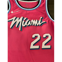 Men's Miami Heat Jimmy Butler No.22 Pink 19-20 Swingman Jersey - City  Edition