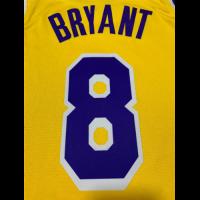 Men's Los Angeles Lakers Kobe Bryant N0.8 Yellow SwingmanJersey-City Edition