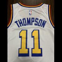 Men's Golden State Warriors Klay Thompson No.11 White 19-20 Swingman Jersey - City Edition