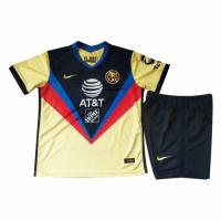 20/21 Club America Home Yellow Children's Jerseys Kit(Shirt+Short)