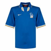 1996 Italy Home Blue Retro Soccer Jerseys Shirt