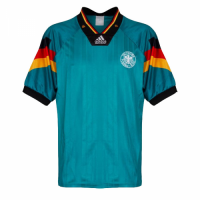 1992 Germany Away Green Retro Soccer Jerseys Shirt