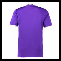16/17 Real Madrid Away Purple Retro Jerseys Shirt